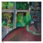 Djoe schildert Galina - detail